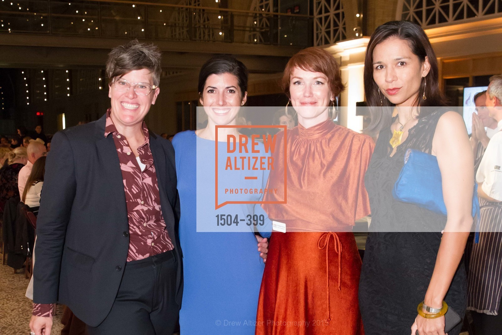 Marcy Coburn, Maggie Engebretson, Christine Farren, Malie Moran, CUESA's Sunday Supper: A Farm to City Feast, San Francisco Ferry Building, October 18th, 2015,Drew Altizer, Drew Altizer Photography, full-service agency, private events, San Francisco photographer, photographer california