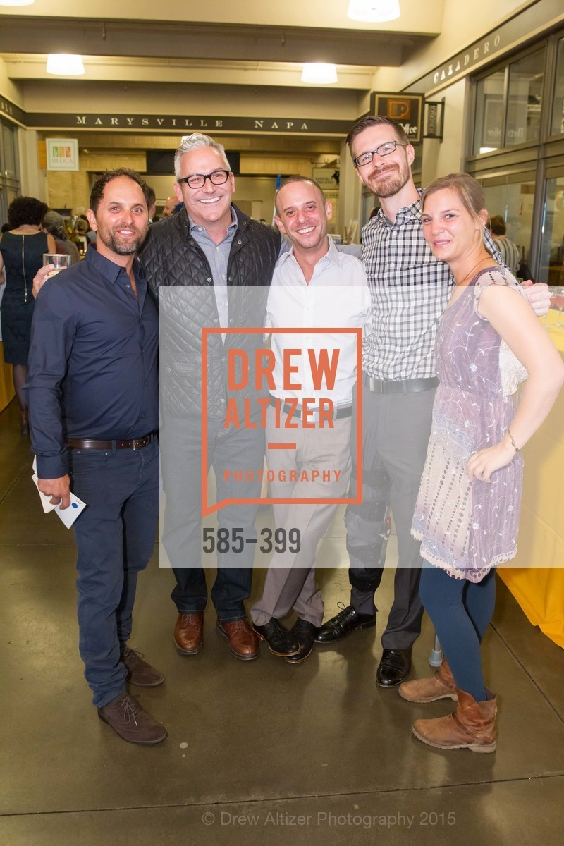 David Retsky, Jeffrey Applegarth, John Retsky, Dustin Finkle, Megan Strong, CUESA's Sunday Supper: A Farm to City Feast, San Francisco Ferry Building, October 18th, 2015,Drew Altizer, Drew Altizer Photography, full-service event agency, private events, San Francisco photographer, photographer California