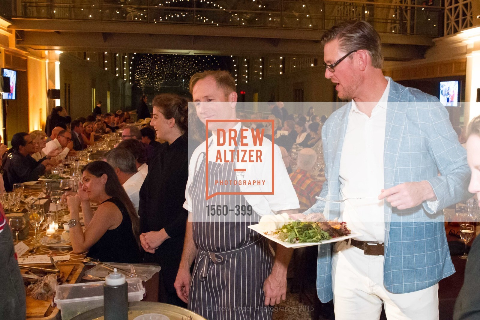 Peter Rudolph, Jake Sylvan, CUESA's Sunday Supper: A Farm to City Feast, San Francisco Ferry Building, October 18th, 2015,Drew Altizer, Drew Altizer Photography, full-service agency, private events, San Francisco photographer, photographer california