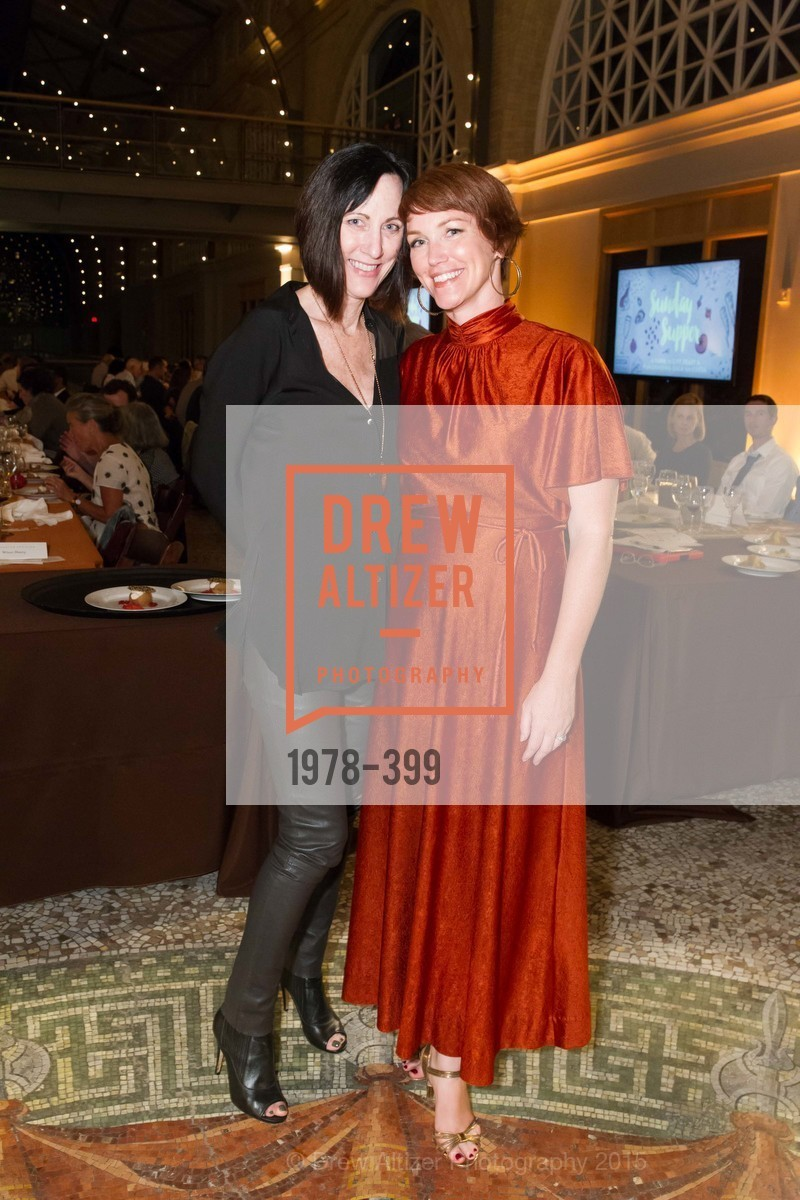 Michele Meany, Christine Farren, CUESA's Sunday Supper: A Farm to City Feast, San Francisco Ferry Building, October 18th, 2015,Drew Altizer, Drew Altizer Photography, full-service agency, private events, San Francisco photographer, photographer california