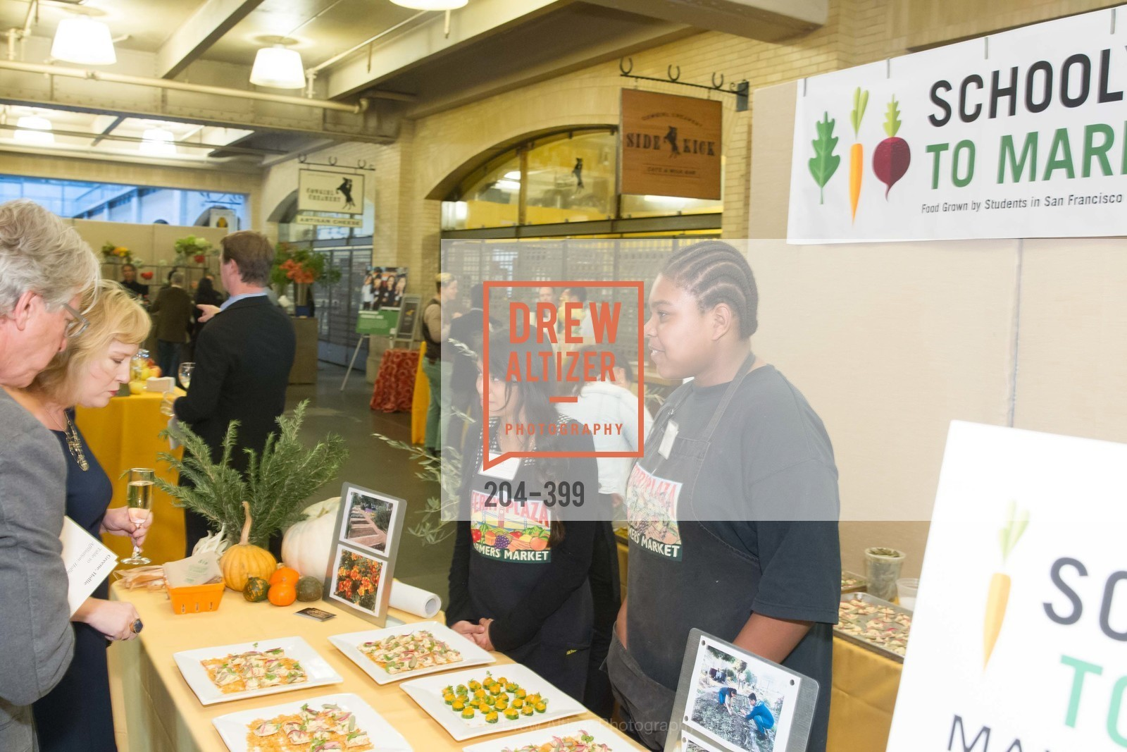 Katherine Bermudez, Tyree Lewis, CUESA's Sunday Supper: A Farm to City Feast, San Francisco Ferry Building, October 18th, 2015,Drew Altizer, Drew Altizer Photography, full-service agency, private events, San Francisco photographer, photographer california