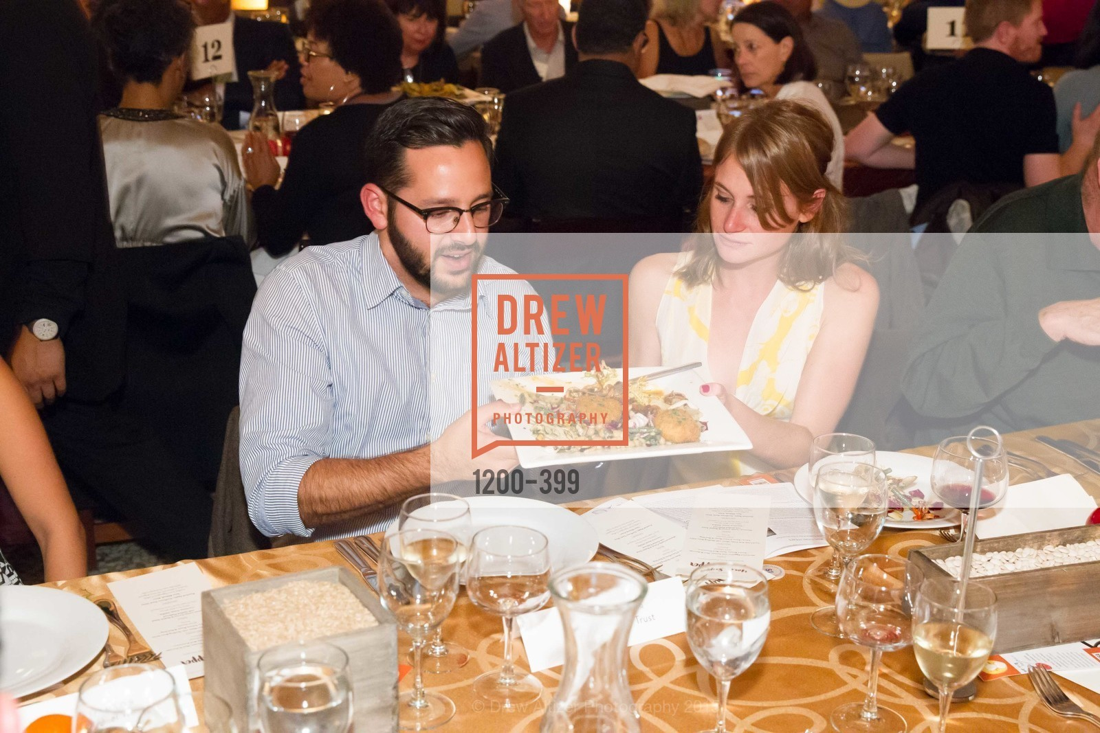 Yoav Schatzberg, Bridget Katz, CUESA's Sunday Supper: A Farm to City Feast, San Francisco Ferry Building, October 18th, 2015,Drew Altizer, Drew Altizer Photography, full-service agency, private events, San Francisco photographer, photographer california
