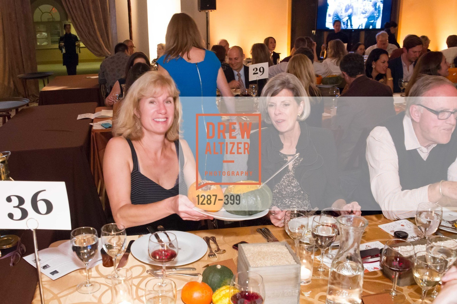Mimi Gorin, Barbara Peterson, CUESA's Sunday Supper: A Farm to City Feast, San Francisco Ferry Building, October 18th, 2015,Drew Altizer, Drew Altizer Photography, full-service agency, private events, San Francisco photographer, photographer california