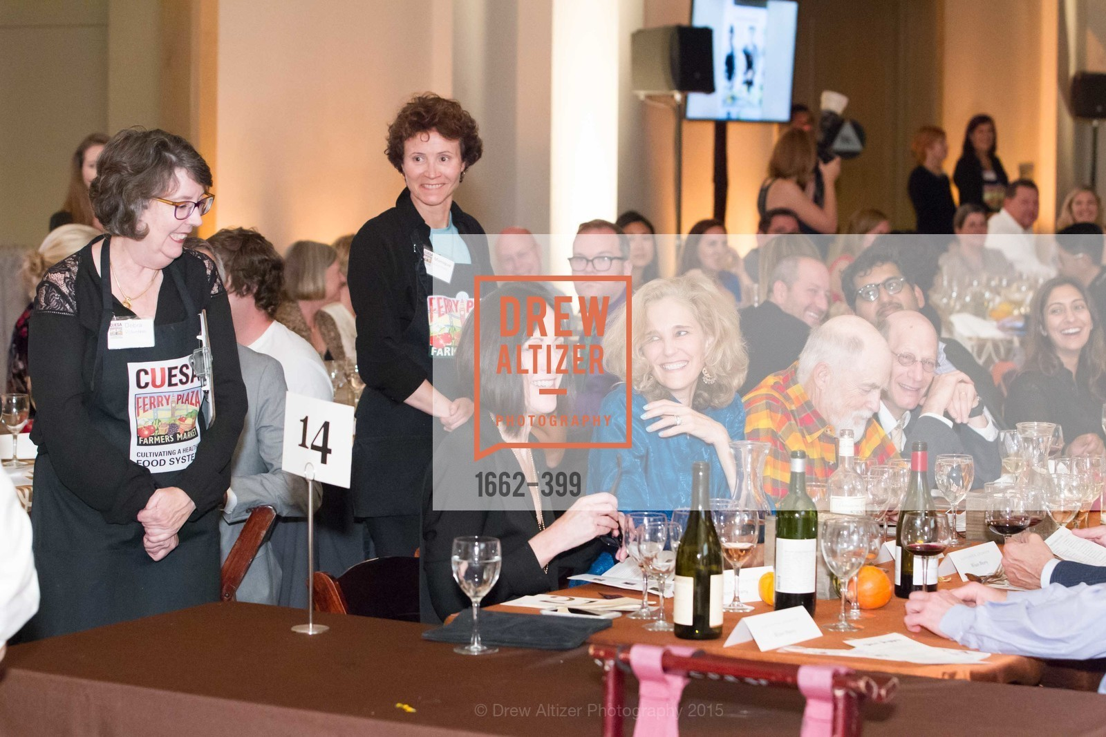 Michele Meany, Jennifer Biederbeck, CUESA's Sunday Supper: A Farm to City Feast, San Francisco Ferry Building, October 18th, 2015,Drew Altizer, Drew Altizer Photography, full-service agency, private events, San Francisco photographer, photographer california