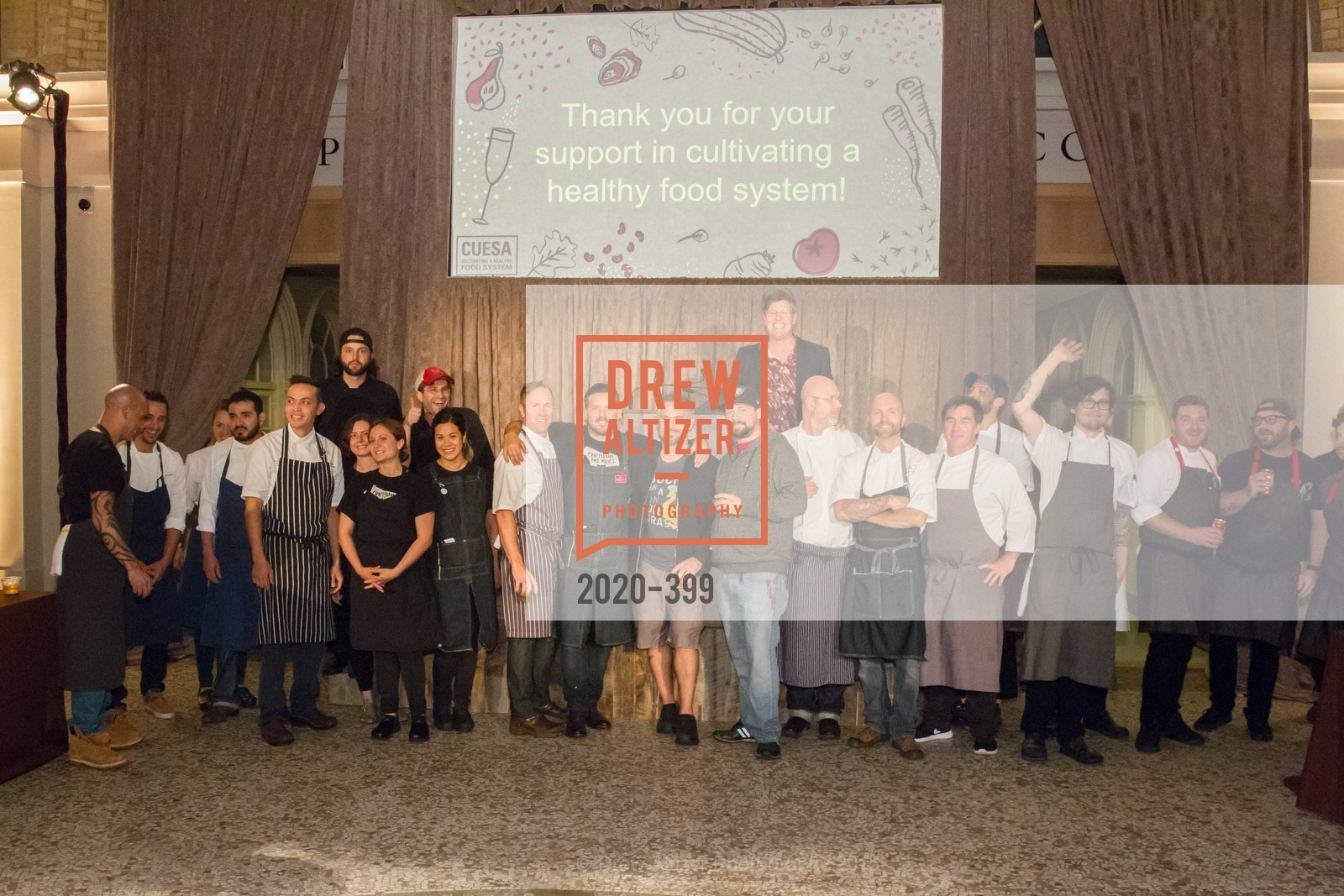 The Chefs, CUESA's Sunday Supper: A Farm to City Feast, San Francisco Ferry Building, October 18th, 2015,Drew Altizer, Drew Altizer Photography, full-service agency, private events, San Francisco photographer, photographer california