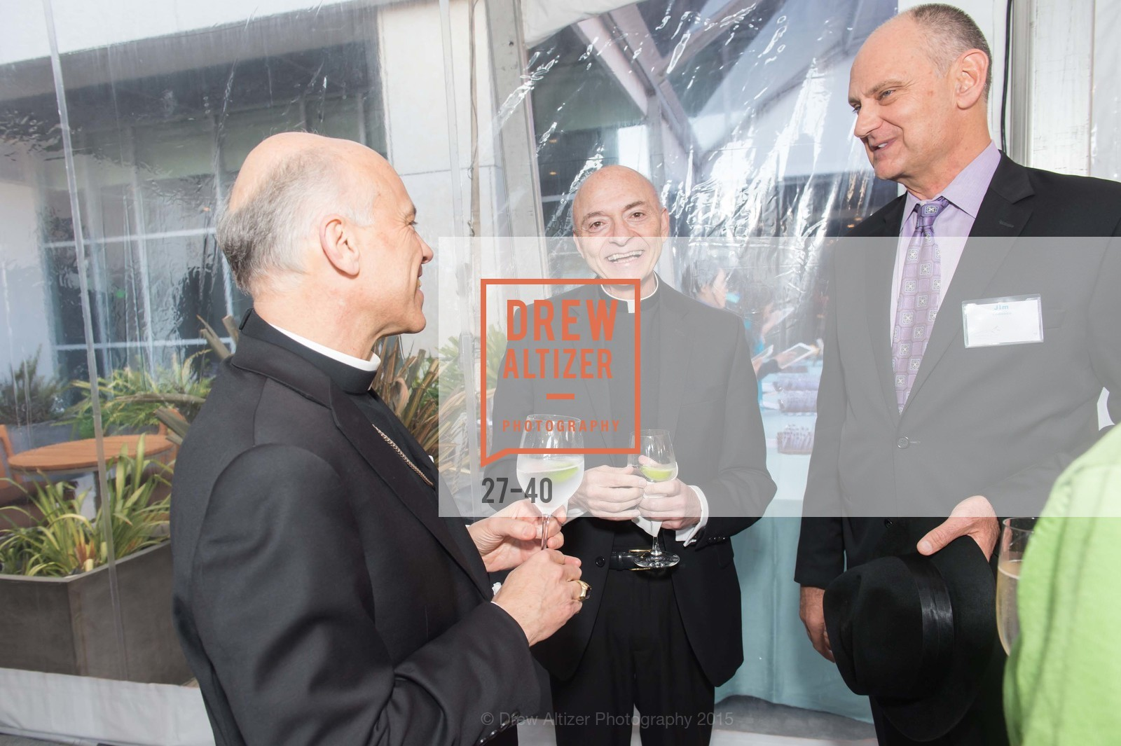 Archbishop Salvatore Cordileone, Mnsgr. Tarantino, Jim Larrocca, Pat Larocca,  Catholic Charities Loaves & Fishes, St. Regis, April 18th, 2015,Drew Altizer, Drew Altizer Photography, full-service agency, private events, San Francisco photographer, photographer california