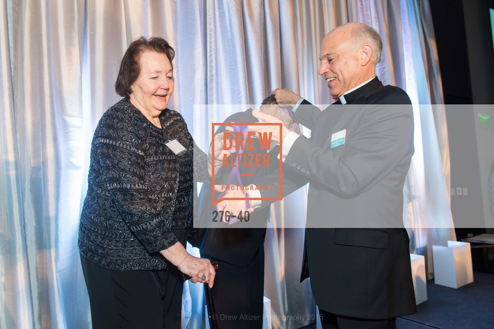 Kristine Silva, Frederick Jim Silva, Archbishop Salvatore Cordeleone,  Catholic Charities Loaves & Fishes, St. Regis, April 18th, 2015,Drew Altizer, Drew Altizer Photography, full-service agency, private events, San Francisco photographer, photographer california