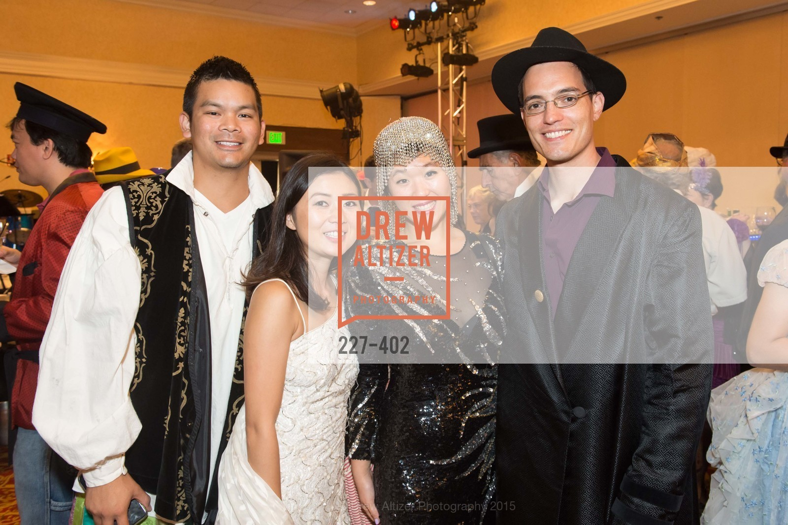 TJ Salunga, Wendy Guo, Jamie Yoo, Eugene Otto, Theatre Works Presents: Anything Goes, Santa Clara Marriott. 2700 Mission College Blvd, October 17th, 2015,Drew Altizer, Drew Altizer Photography, full-service agency, private events, San Francisco photographer, photographer california