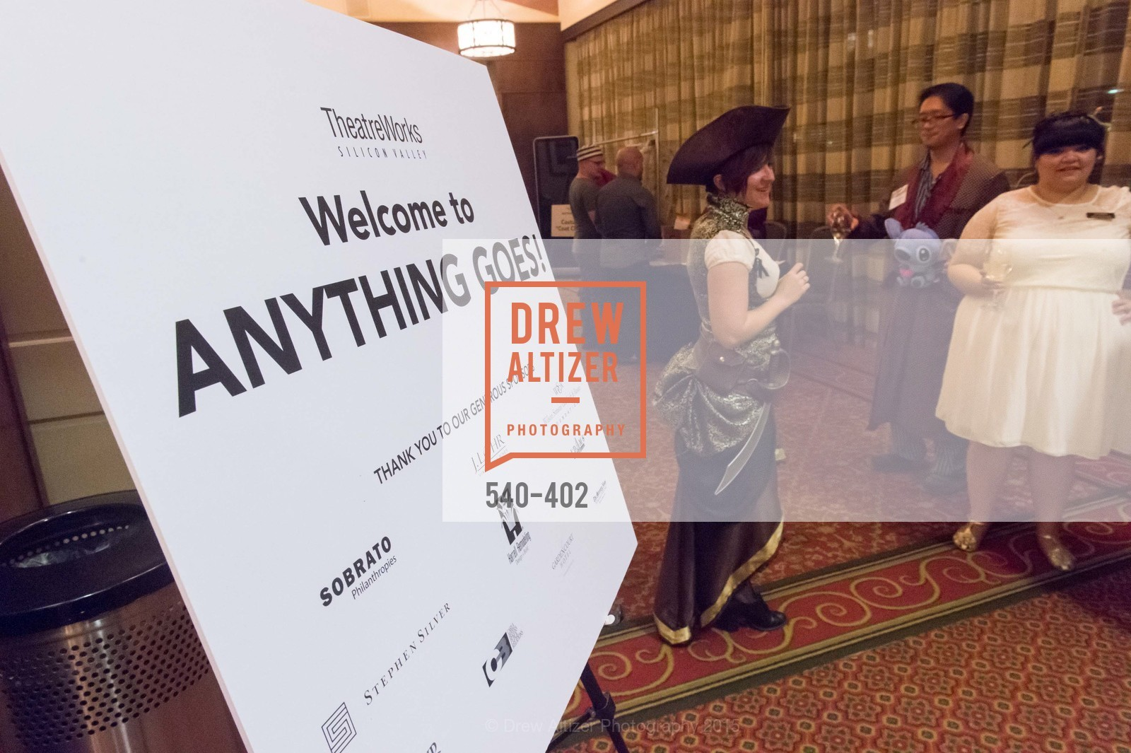 Atmosphere, Theatre Works Presents: Anything Goes, Santa Clara Marriott. 2700 Mission College Blvd, October 17th, 2015,Drew Altizer, Drew Altizer Photography, full-service agency, private events, San Francisco photographer, photographer california