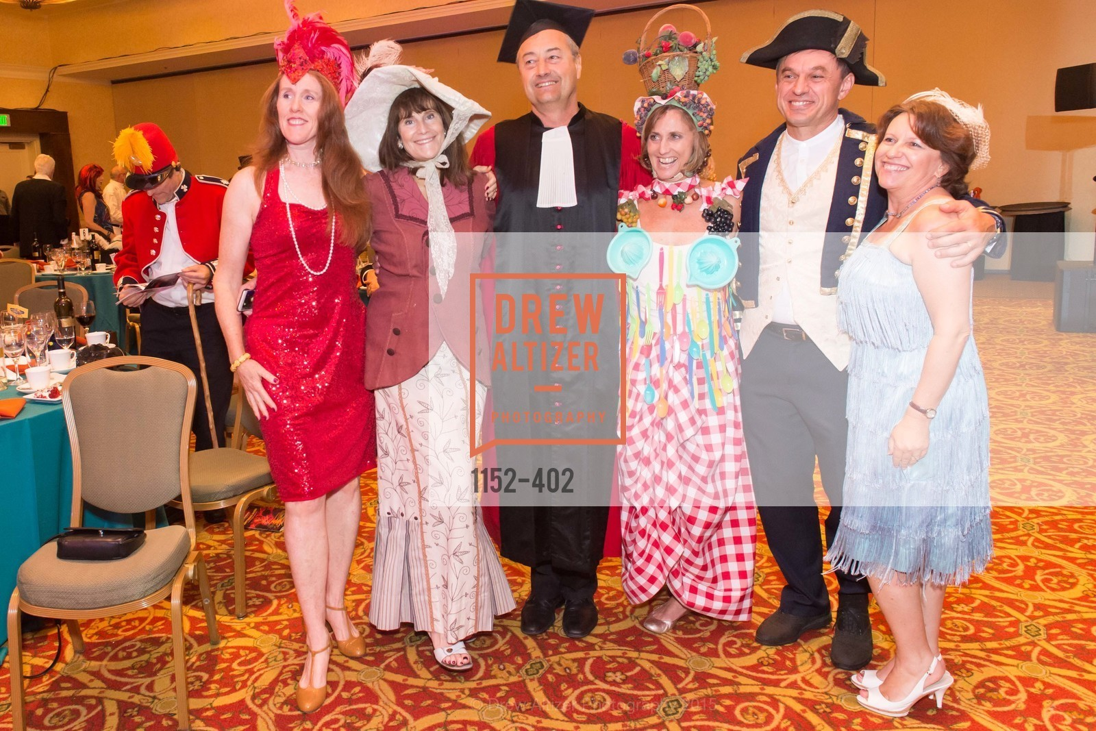 Bufie Eifert, Vivien D'Andrea, Stephen D'Andrea, Sheri Sobrato, Laurent Delamare, Jennifer Delamare, Theatre Works Presents: Anything Goes, Santa Clara Marriott. 2700 Mission College Blvd, October 17th, 2015,Drew Altizer, Drew Altizer Photography, full-service agency, private events, San Francisco photographer, photographer california