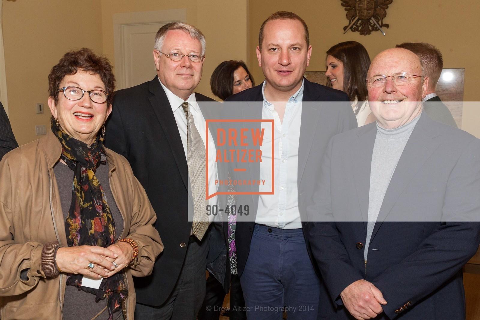 Joan DePaoli, Karl Backus, Florian Idenburg, Alex DePaoli, Photo #90-4049