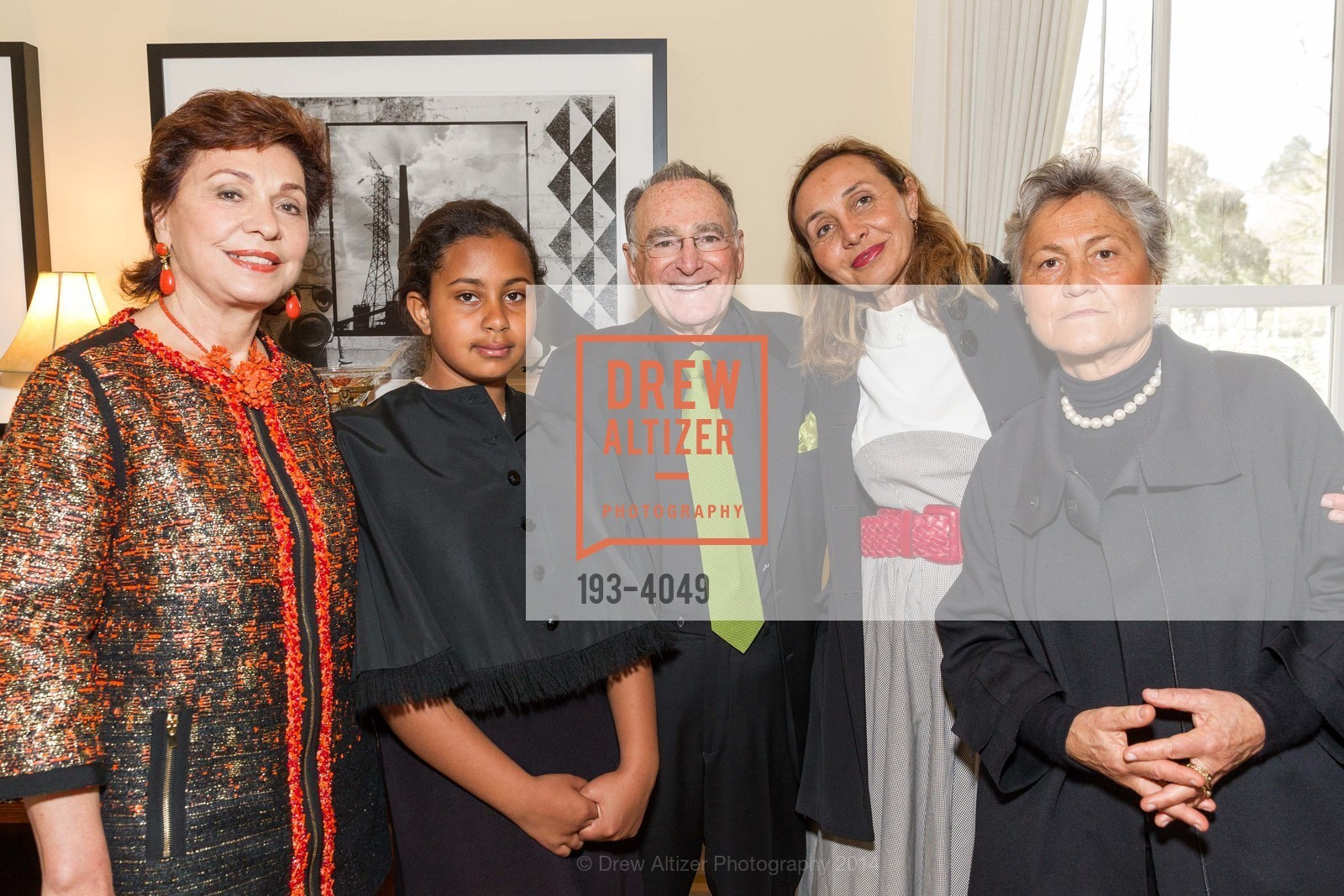 Maria Manetti Shrem, Camilla Ruini, Jan Shrem, Beatrice Ruini, Corina Manetti, Photo #193-4049