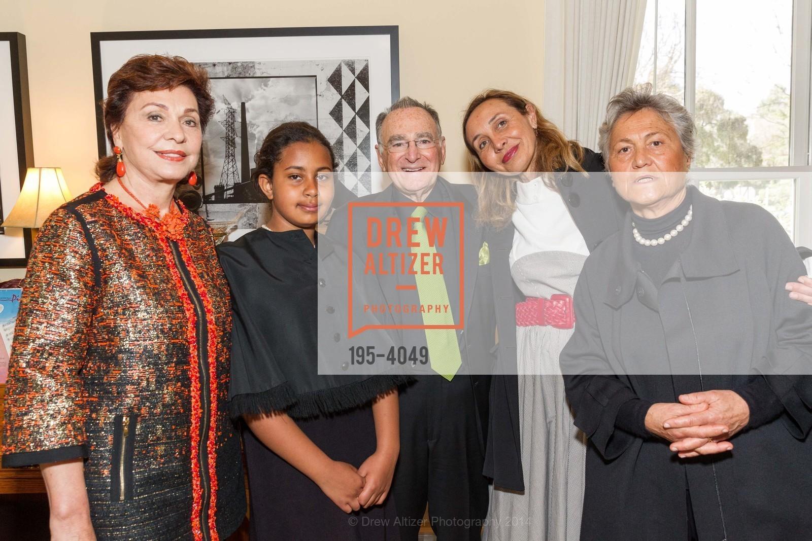 Maria Manetti Shrem, Camilla Ruini, Jan Shrem, Beatrice Ruini, Corina Manetti, Photo #195-4049