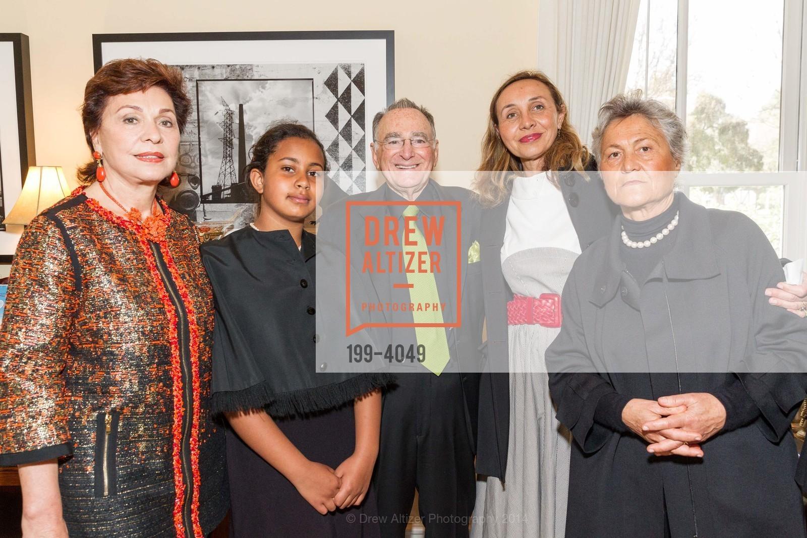 Maria Manetti Shrem, Camilla Ruini, Jan Shrem, Beatrice Ruini, Corina Manetti, Photo #199-4049