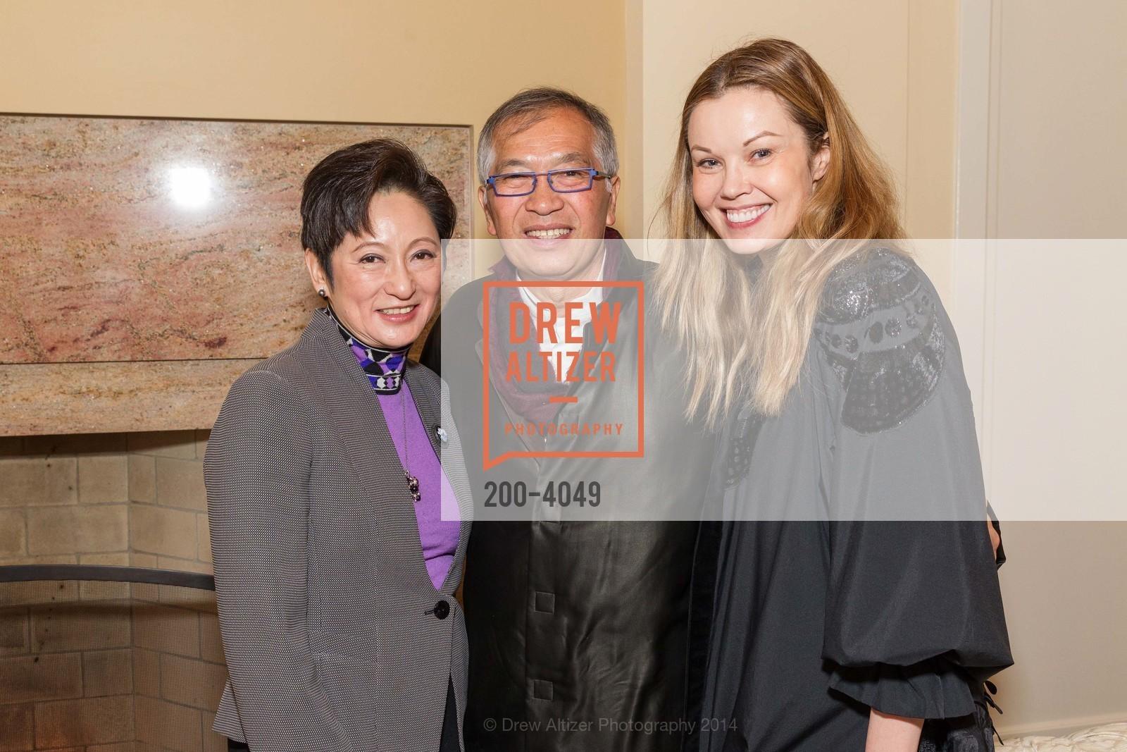Doreen Ho, James Ho, Tatiana Sorokko, Photo #200-4049