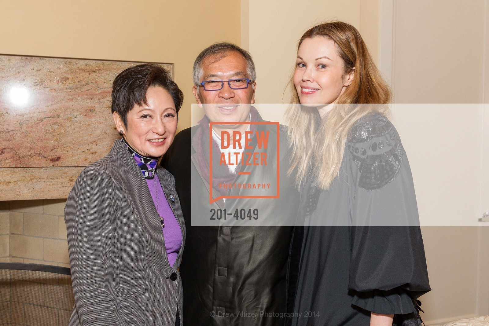 Doreen Ho, James Ho, Tatiana Sorokko, Photo #201-4049