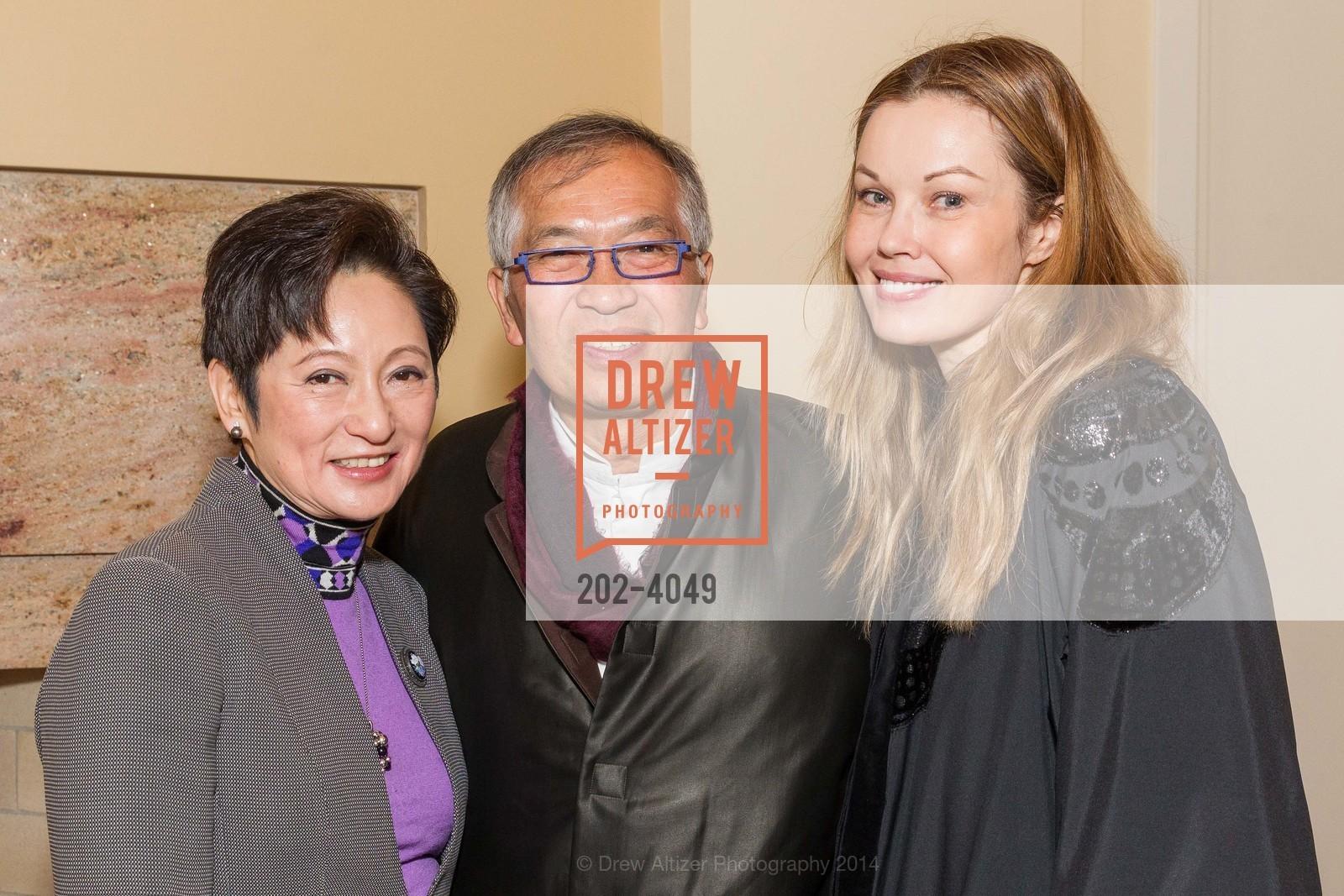 Doreen Ho, James Ho, Tatiana Sorokko, Photo #202-4049