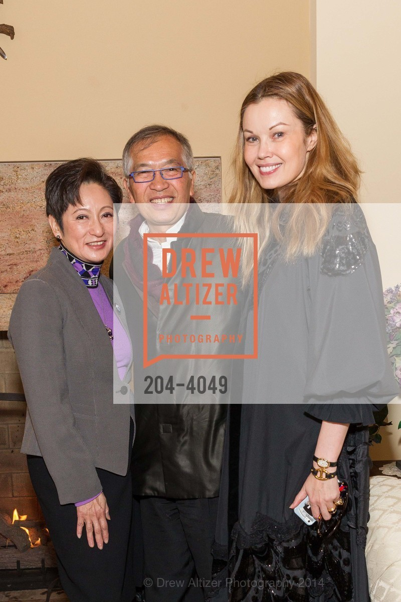 Doreen Ho, James Ho, Tatiana Sorokko, Photo #204-4049