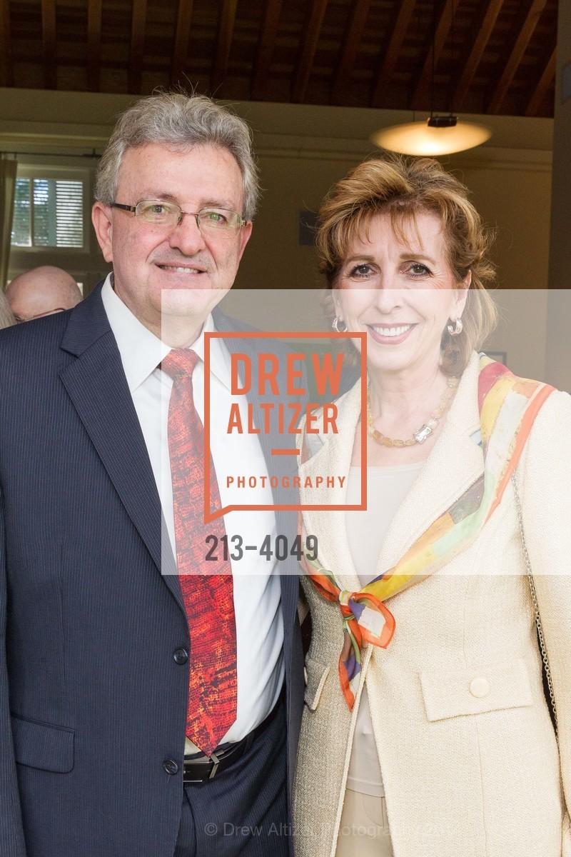 Spyros Tseregounis, Chancellor Linda Katehi, Photo #213-4049