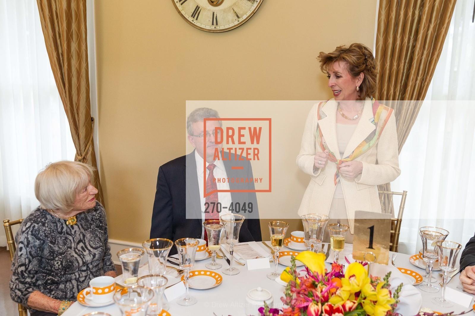 Margrit Mondavi, Spyros Tseregounis, Chancellor Linda Katehi, Photo #270-4049