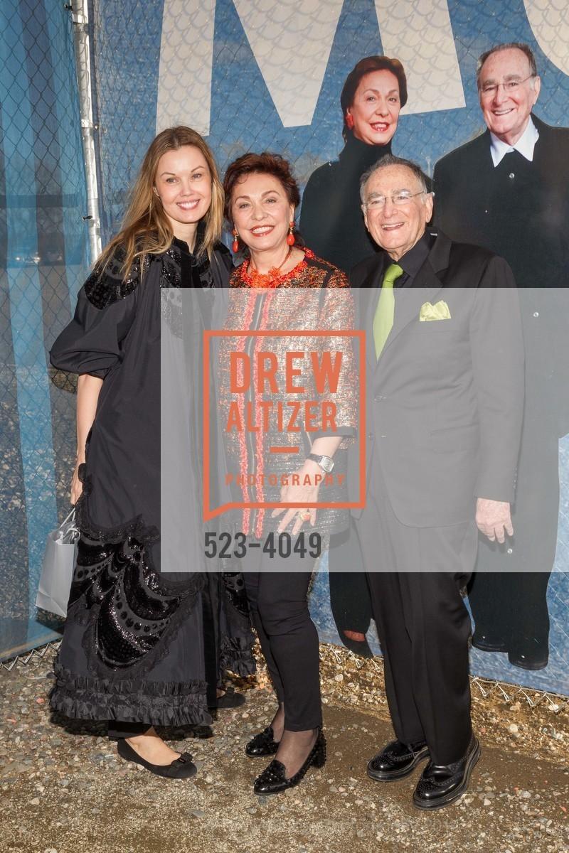 Tatiana Sorokko, Maria Manetti Shrem, Jan Shrem, Photo #523-4049