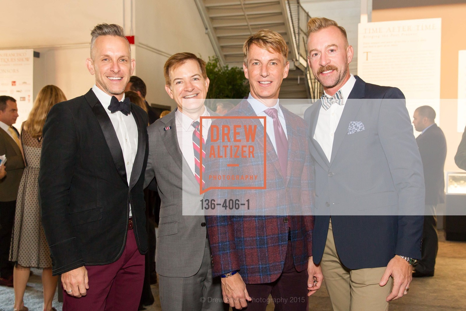 Jay Jeffers, Trent Norris, Jack Calhoun, Michael Purdy, The San Francisco Fall Antiques Show, Festival Pavilion, Fort Mason, October 21st, 2015,Drew Altizer, Drew Altizer Photography, full-service agency, private events, San Francisco photographer, photographer california