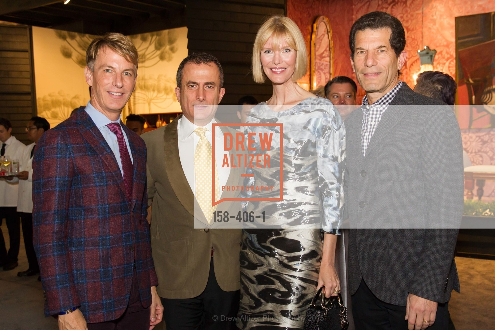 Jack Calhoun, Jorge Maumer, Karen Richardson, John Rubinstein, The San Francisco Fall Antiques Show, Festival Pavilion, Fort Mason, October 21st, 2015,Drew Altizer, Drew Altizer Photography, full-service event agency, private events, San Francisco photographer, photographer California