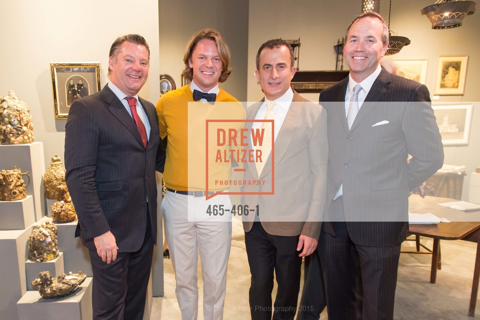 Andreas Rippel, Darren Bechtel, Jorge Maumer, Chip Zecher, The San Francisco Fall Antiques Show, Festival Pavilion, Fort Mason, October 21st, 2015,Drew Altizer, Drew Altizer Photography, full-service agency, private events, San Francisco photographer, photographer california