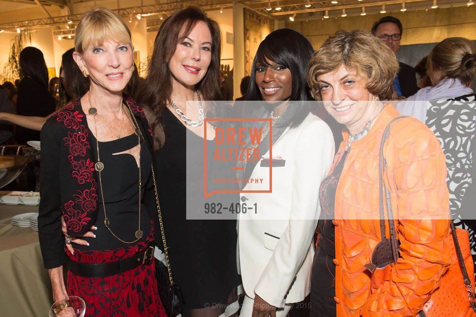 Marylou Maier, Margaret Mitchell, Pernella Sommerville, Ludmila Eggleton, The San Francisco Fall Antiques Show, Festival Pavilion, Fort Mason, October 21st, 2015,Drew Altizer, Drew Altizer Photography, full-service agency, private events, San Francisco photographer, photographer california
