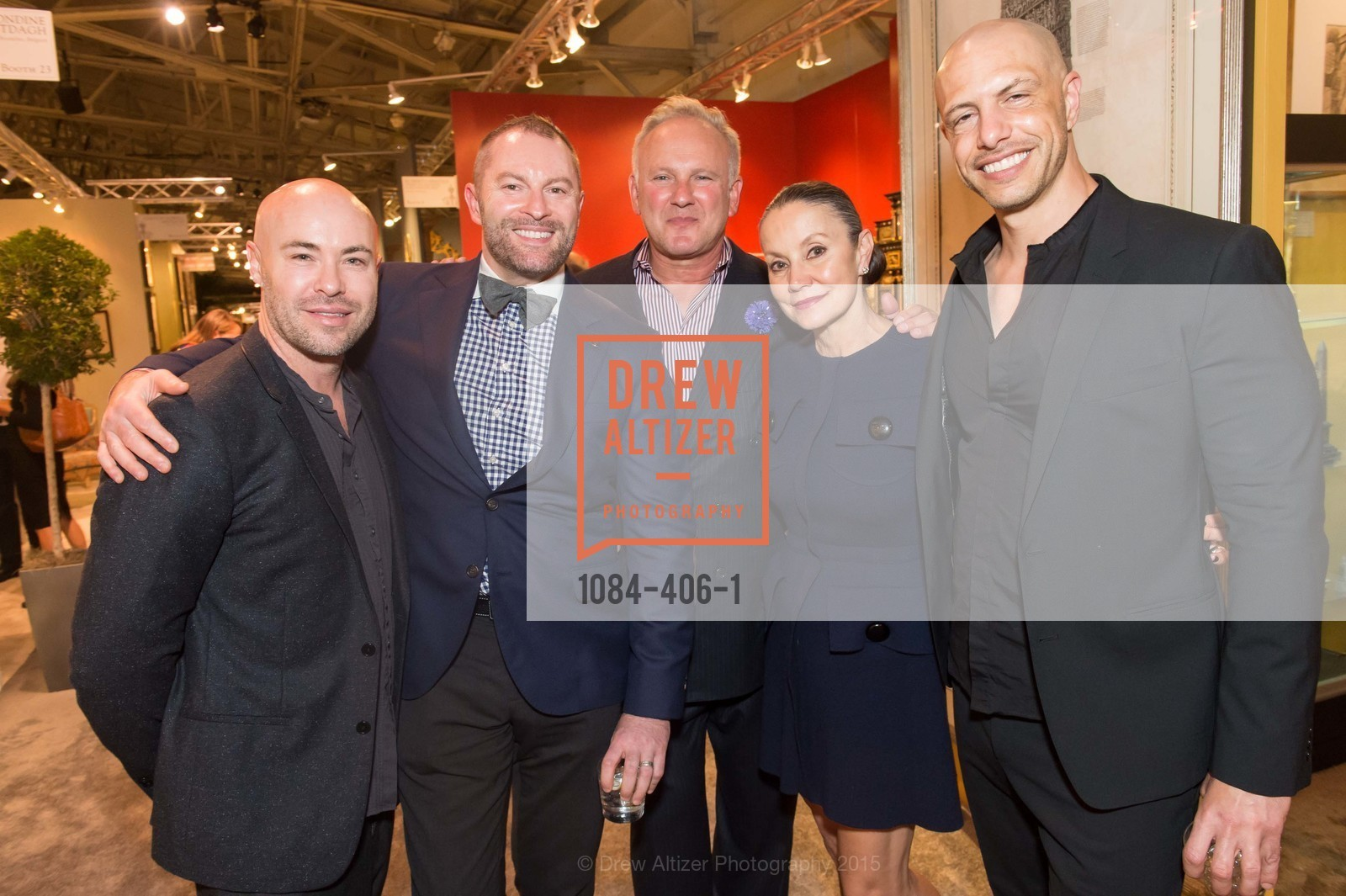 Darren Geis, Thierry Buissom, Brian Kessler, Carol Anne Warner, Jay Alton, The San Francisco Fall Antiques Show, Festival Pavilion, Fort Mason, October 21st, 2015,Drew Altizer, Drew Altizer Photography, full-service agency, private events, San Francisco photographer, photographer california