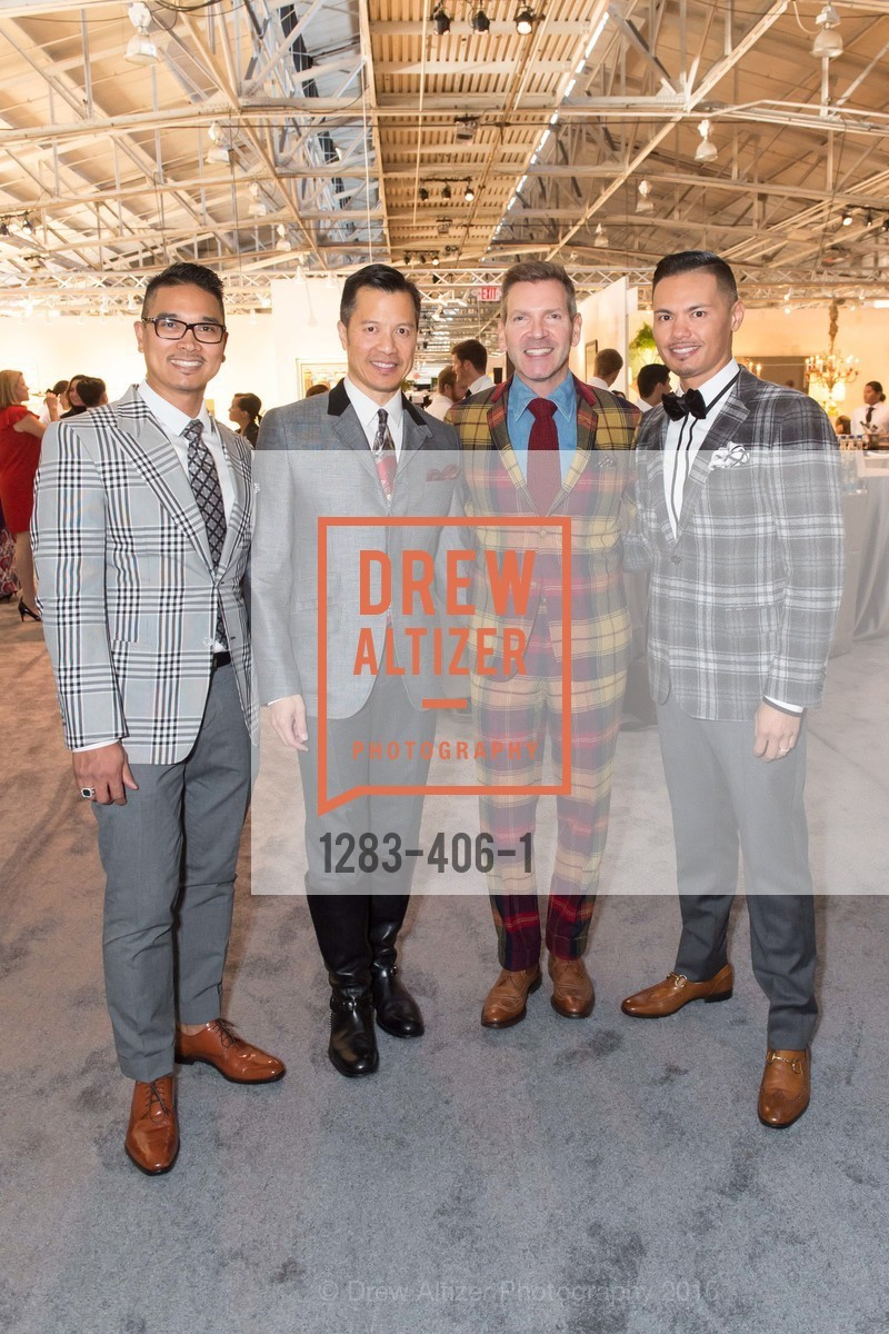Randy Anzaldo, Kevin Yee, Eric Petsinger, Jason Legaspi, The San Francisco Fall Antiques Show, Festival Pavilion, Fort Mason, October 21st, 2015,Drew Altizer, Drew Altizer Photography, full-service agency, private events, San Francisco photographer, photographer california
