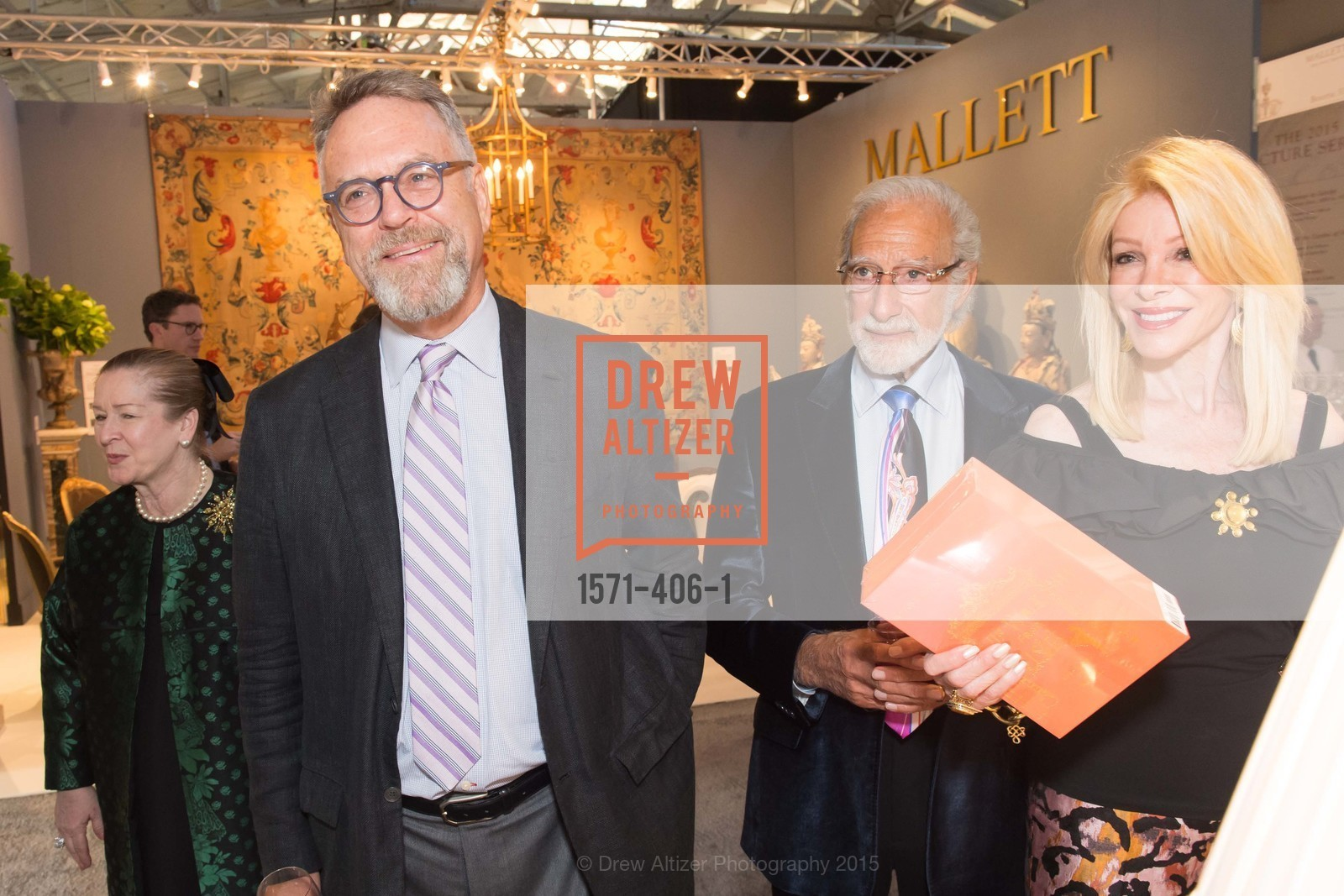 Nion McEvoy, Ted Diekel, Pamela Deikel, The San Francisco Fall Antiques Show, Festival Pavilion, Fort Mason, October 21st, 2015,Drew Altizer, Drew Altizer Photography, full-service agency, private events, San Francisco photographer, photographer california