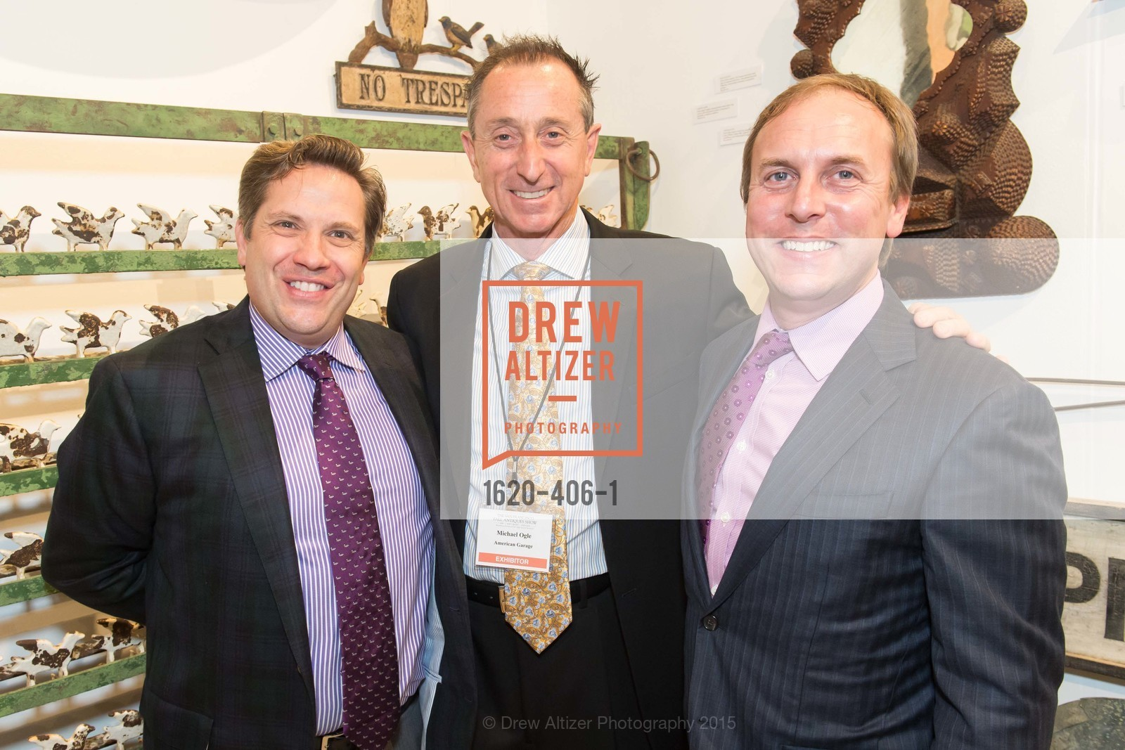 Nicholas Casadrande, Micheal Ogle, Billy Harris, The San Francisco Fall Antiques Show, Festival Pavilion, Fort Mason, October 21st, 2015,Drew Altizer, Drew Altizer Photography, full-service agency, private events, San Francisco photographer, photographer california