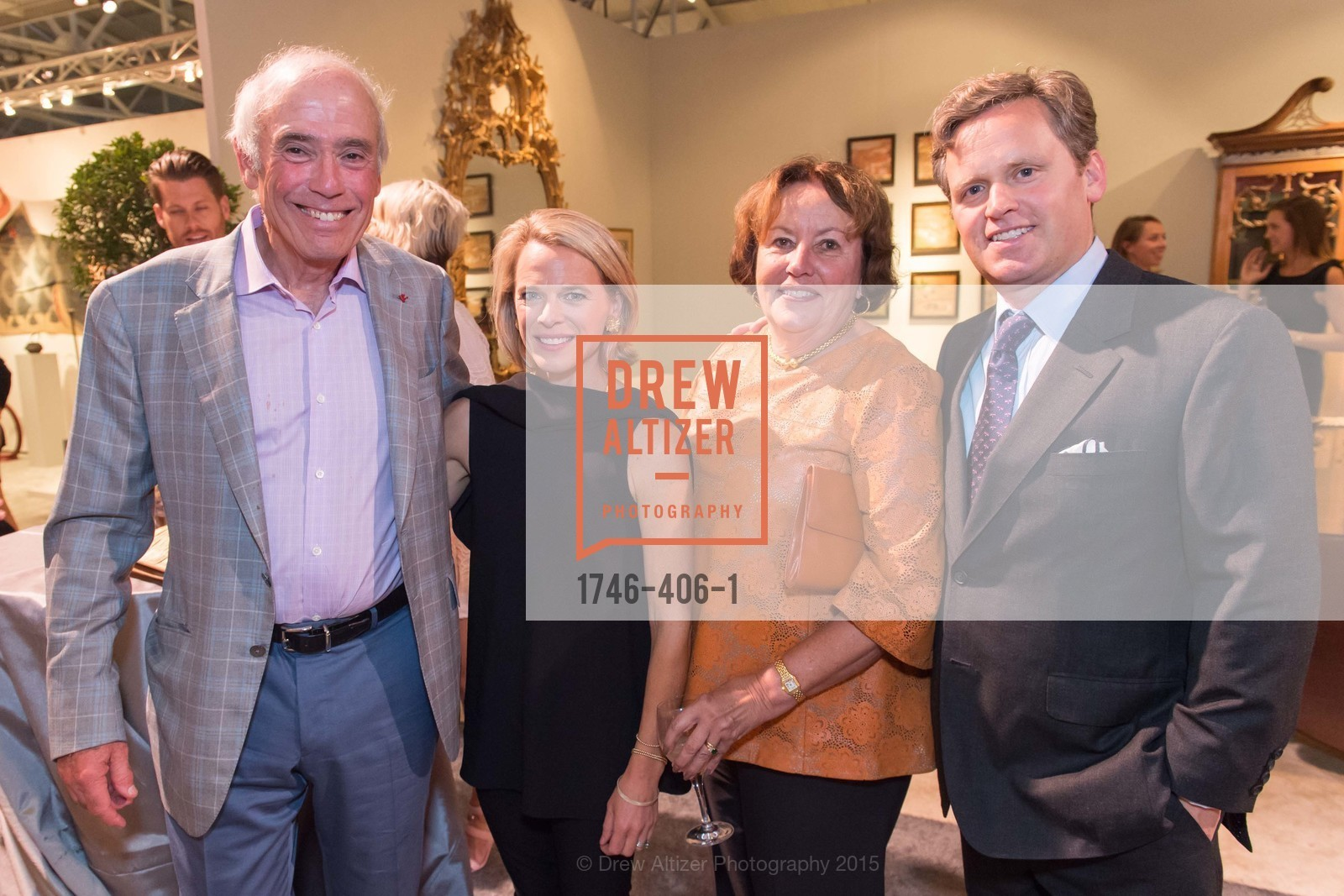JOhn Gruber, Jessica Cornell, Linda Gruber, Nate Cornell, The San Francisco Fall Antiques Show, Festival Pavilion, Fort Mason, October 21st, 2015,Drew Altizer, Drew Altizer Photography, full-service agency, private events, San Francisco photographer, photographer california