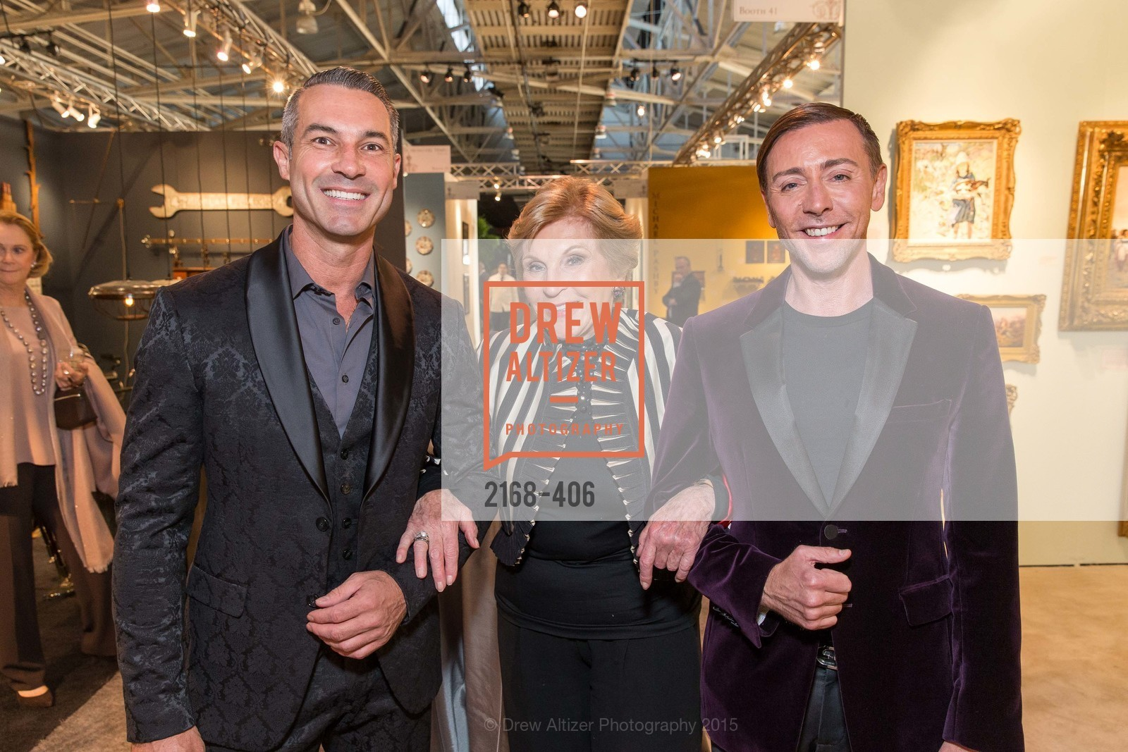 Jerome Molles, Lois Lehrman, Mark Rhoades, The San Francisco Fall Antiques Show, Festival Pavilion, Fort Mason, October 21st, 2015,Drew Altizer, Drew Altizer Photography, full-service agency, private events, San Francisco photographer, photographer california