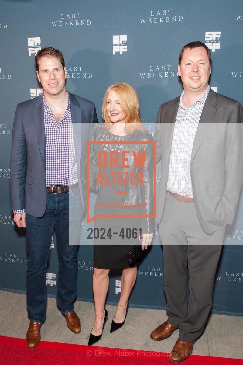 Tom Dolby, Patricia Clarkson, Tom Williams, Photo #2024-4061