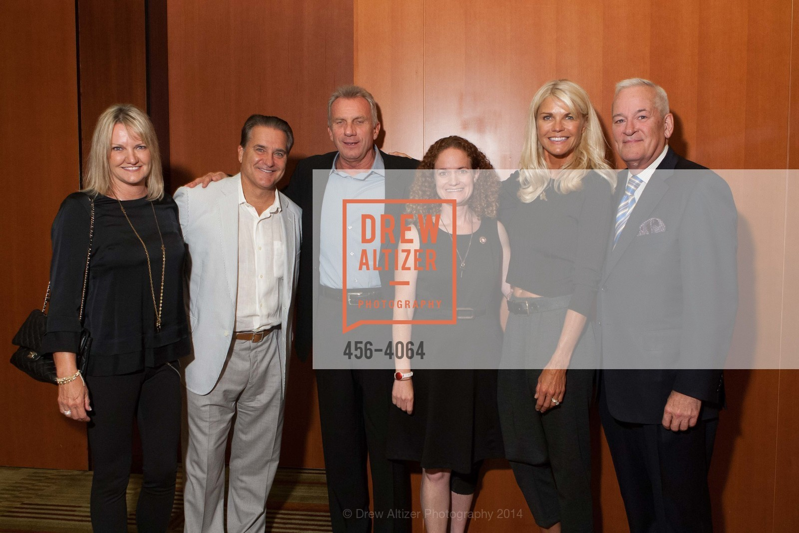 Gayle Mariucci, Steve Mariucci, Joe Montana, Joanne Pasternack, Jennifer Montana, Tracy Mercer, Photo #456-4064