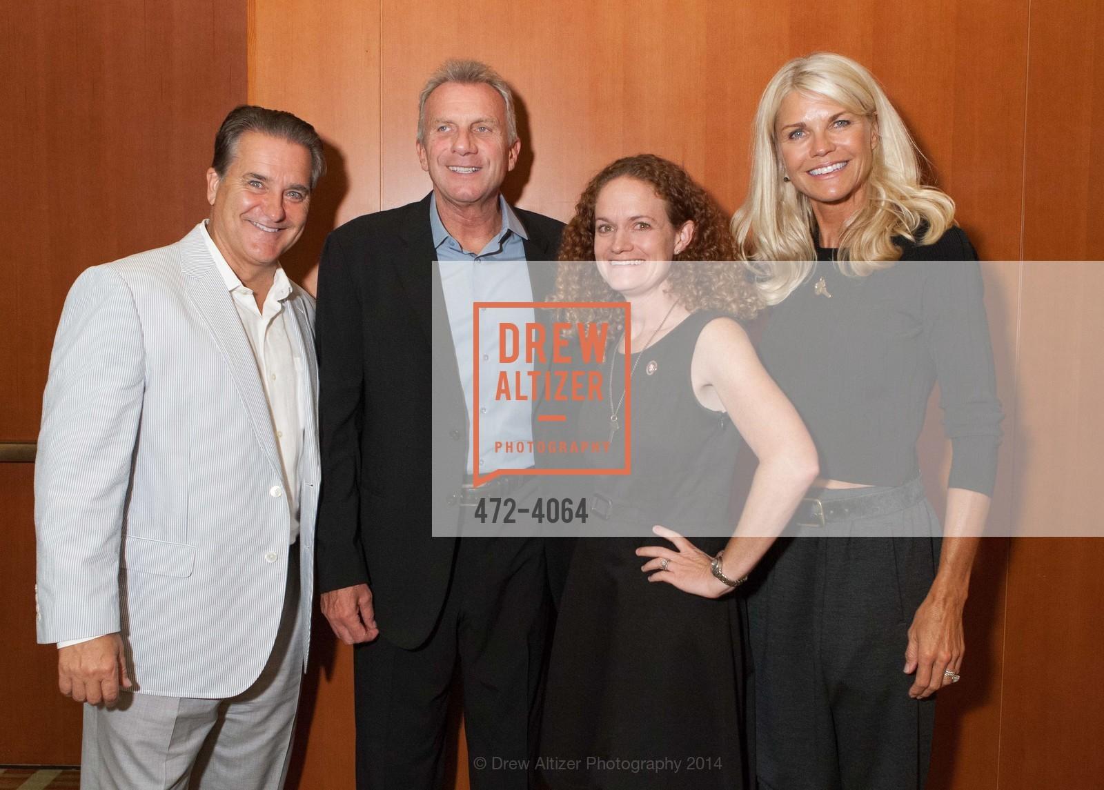 Steve Mariucci, Joe Montana, Joanne Pasternack, Jennifer Montana, Photo #472-4064