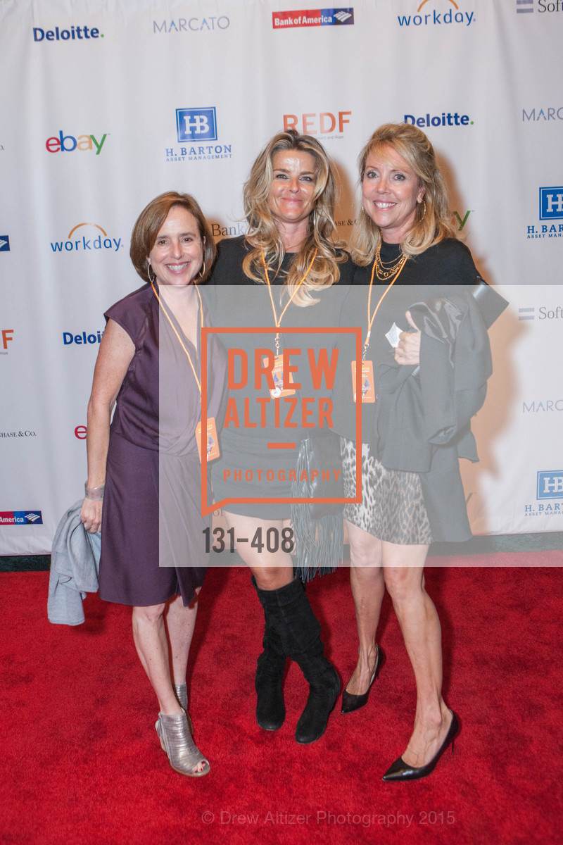 Maryan Ackley, Jackie Comolli, Renee Hellman, REDF's 2015 BENEFIT featuring JOURNEY, The Warfield Theatre. 982 Market St, October 22nd, 2015,Drew Altizer, Drew Altizer Photography, full-service agency, private events, San Francisco photographer, photographer california