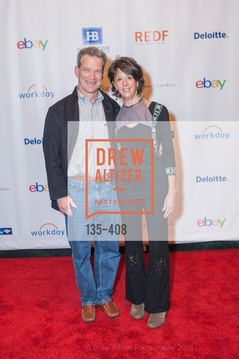 Mike Normant, Ellen Brook, REDF's 2015 BENEFIT featuring JOURNEY, The Warfield Theatre. 982 Market St, October 22nd, 2015,Drew Altizer, Drew Altizer Photography, full-service agency, private events, San Francisco photographer, photographer california