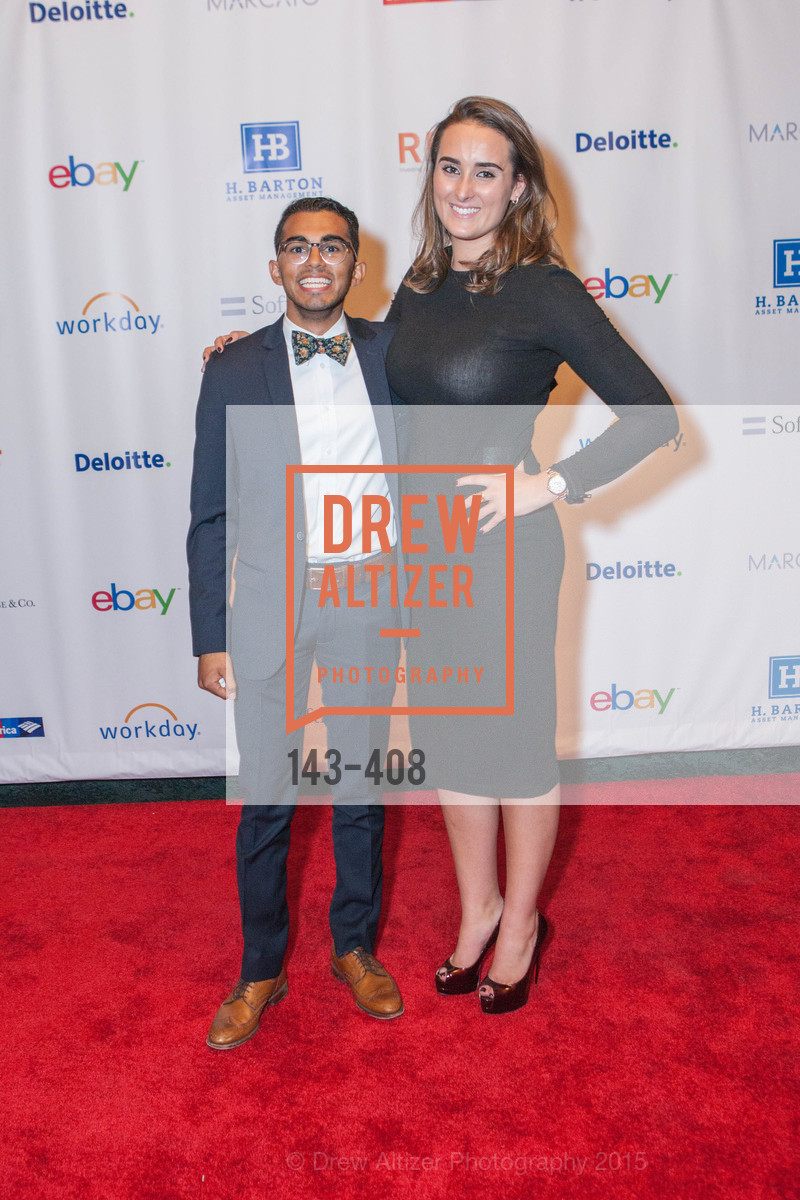 Umair Ahmed, Mackenna Comolli, REDF's 2015 BENEFIT featuring JOURNEY, The Warfield Theatre. 982 Market St, October 22nd, 2015,Drew Altizer, Drew Altizer Photography, full-service event agency, private events, San Francisco photographer, photographer California