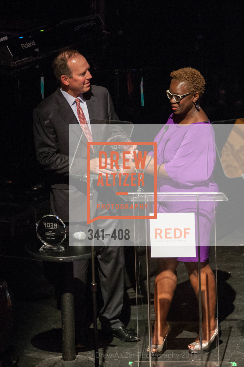 Ron Sturzenegger, Lande Ajose, REDF's 2015 BENEFIT featuring JOURNEY, The Warfield Theatre. 982 Market St, October 22nd, 2015,Drew Altizer, Drew Altizer Photography, full-service agency, private events, San Francisco photographer, photographer california