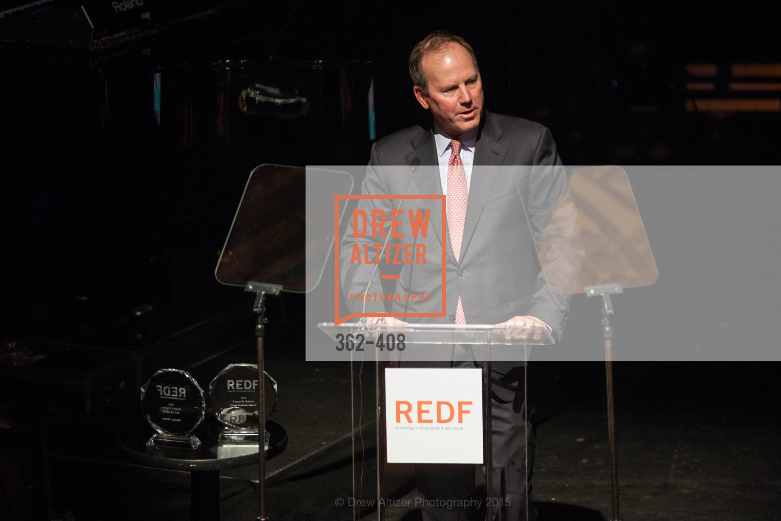 Ron Sturzenegger, REDF's 2015 BENEFIT featuring JOURNEY, The Warfield Theatre. 982 Market St, October 22nd, 2015,Drew Altizer, Drew Altizer Photography, full-service agency, private events, San Francisco photographer, photographer california