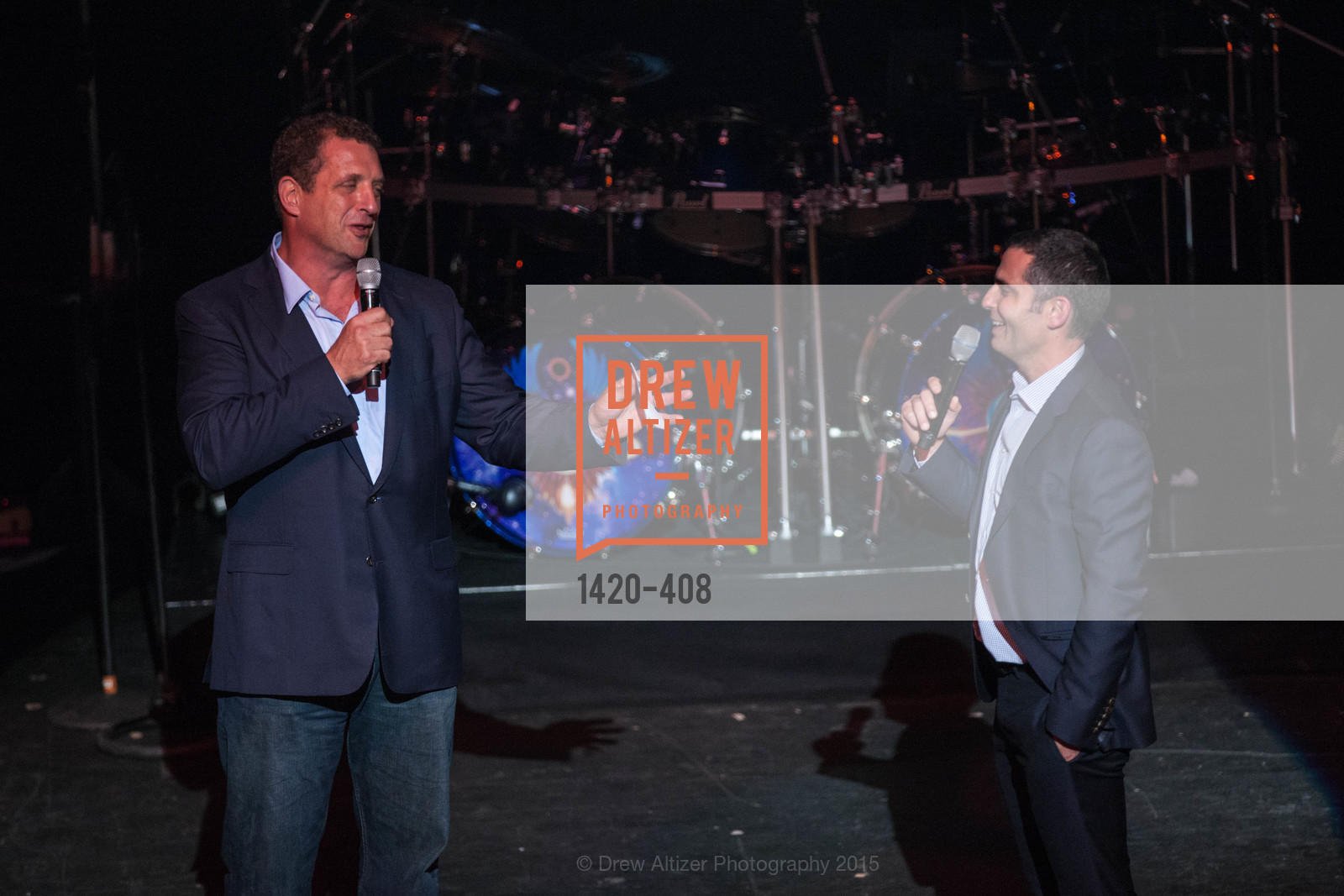 Harris Barton, Dan Rose, REDF's 2015 BENEFIT featuring JOURNEY, The Warfield Theatre. 982 Market St, October 22nd, 2015,Drew Altizer, Drew Altizer Photography, full-service agency, private events, San Francisco photographer, photographer california