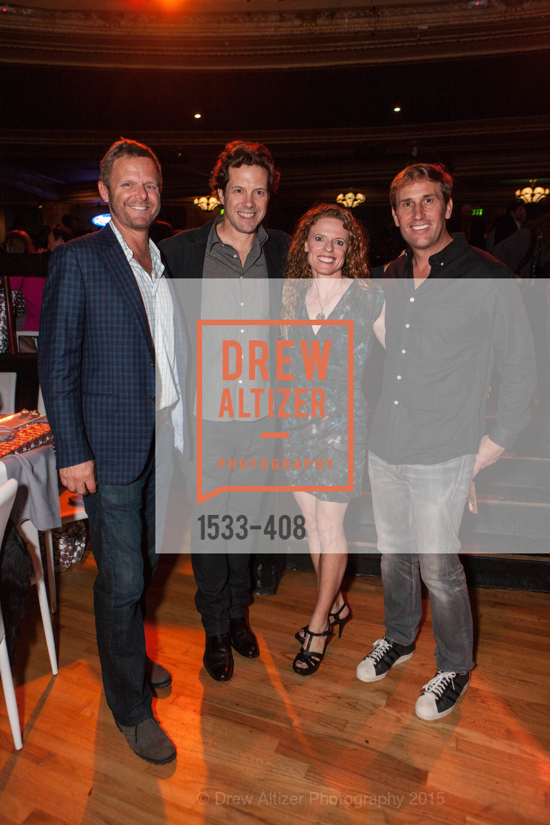 Sig Anderson, Adam Smith, Sarah Dilullo, Scott Olrich, REDF's 2015 BENEFIT featuring JOURNEY, The Warfield Theatre. 982 Market St, October 22nd, 2015,Drew Altizer, Drew Altizer Photography, full-service agency, private events, San Francisco photographer, photographer california