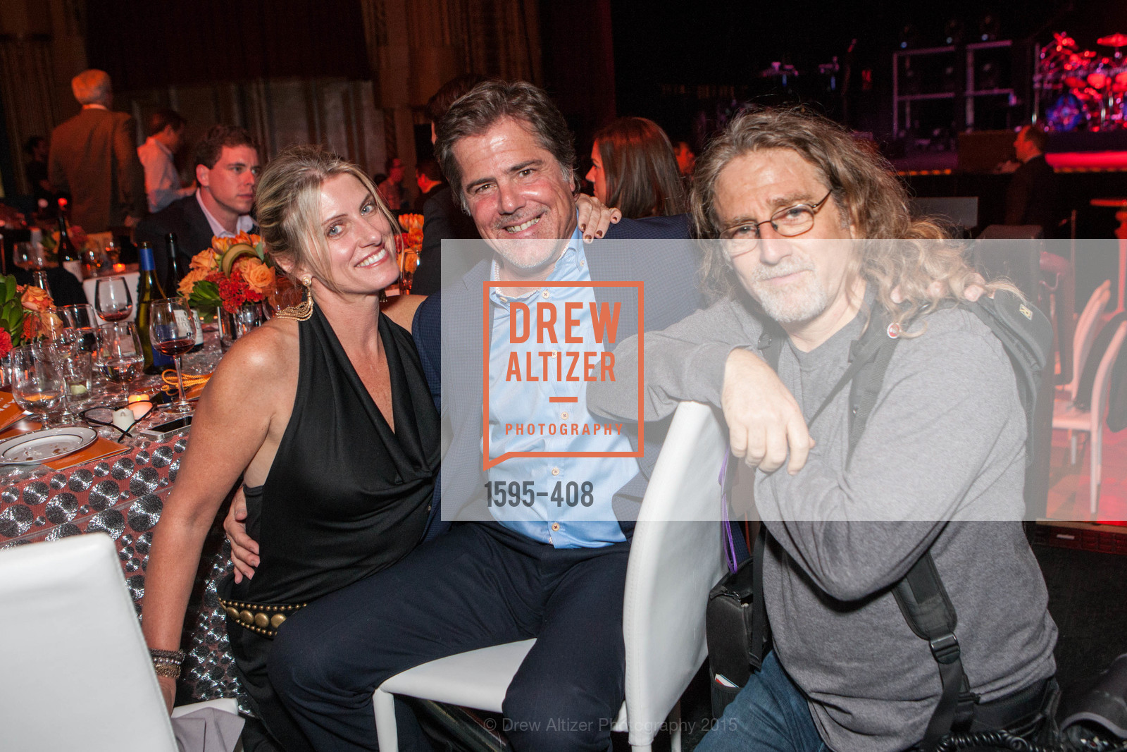 Tami Larson, Dennis Strazulo, Jay Blakesberg, REDF's 2015 BENEFIT featuring JOURNEY, The Warfield Theatre. 982 Market St, October 22nd, 2015,Drew Altizer, Drew Altizer Photography, full-service agency, private events, San Francisco photographer, photographer california