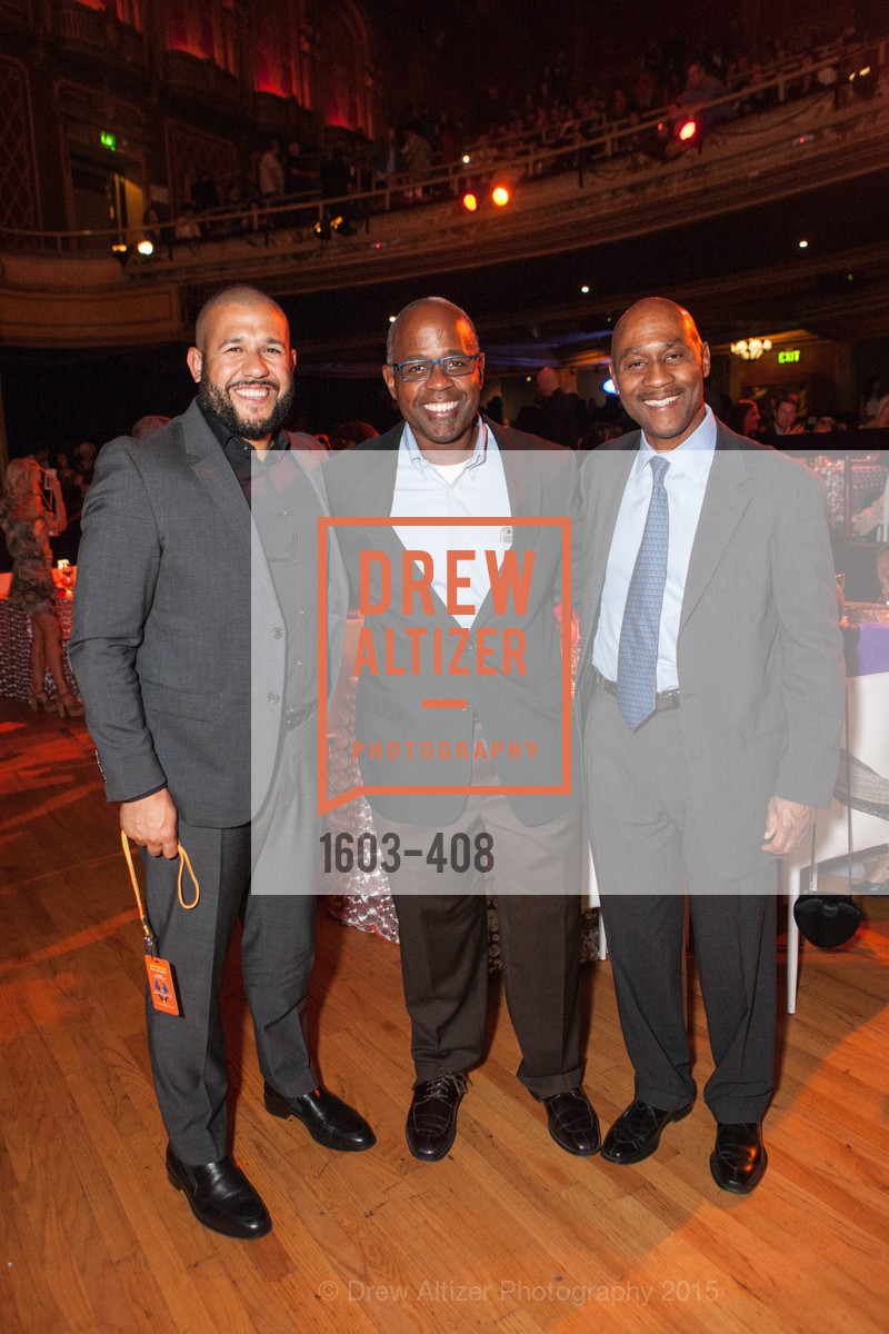 Jason Trimiew, David Nixon, Lewis Byrt, REDF's 2015 BENEFIT featuring JOURNEY, The Warfield Theatre. 982 Market St, October 22nd, 2015,Drew Altizer, Drew Altizer Photography, full-service agency, private events, San Francisco photographer, photographer california