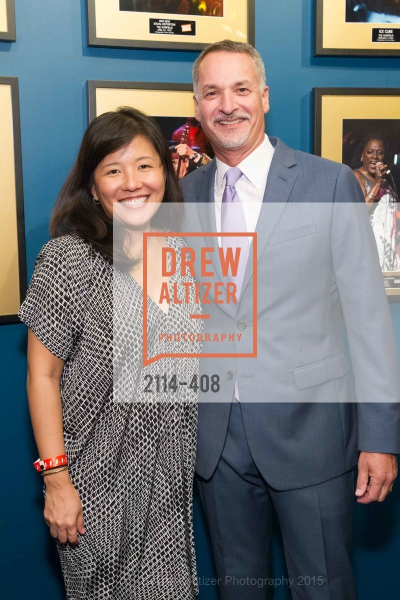 Vivien Lee, Mark Loranger, REDF's 2015 BENEFIT featuring JOURNEY, The Warfield Theatre. 982 Market St, October 22nd, 2015,Drew Altizer, Drew Altizer Photography, full-service agency, private events, San Francisco photographer, photographer california
