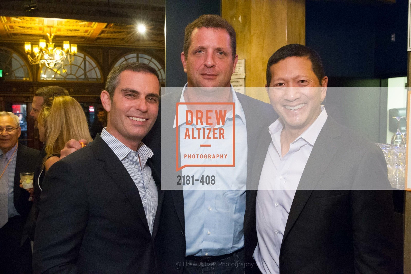 Dan Rose, Harris Barton, Jeff Yang, REDF's 2015 BENEFIT featuring JOURNEY, The Warfield Theatre. 982 Market St, October 22nd, 2015,Drew Altizer, Drew Altizer Photography, full-service agency, private events, San Francisco photographer, photographer california
