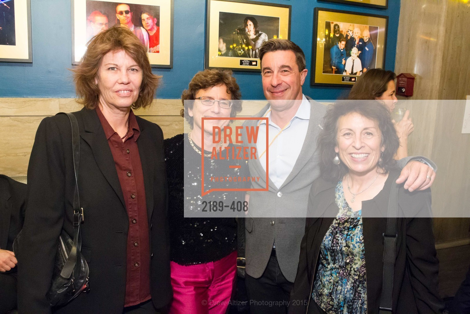 Leslie Larson, Margaret Cecchetti, Scott Schafer, Carla Trujillo, REDF's 2015 BENEFIT featuring JOURNEY, The Warfield Theatre. 982 Market St, October 22nd, 2015,Drew Altizer, Drew Altizer Photography, full-service agency, private events, San Francisco photographer, photographer california
